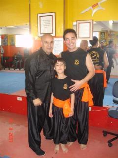 Kung Fu - Faixa Laranja